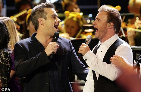 The fourteen year wait is over – Take That and Robbie Williams Reunite
