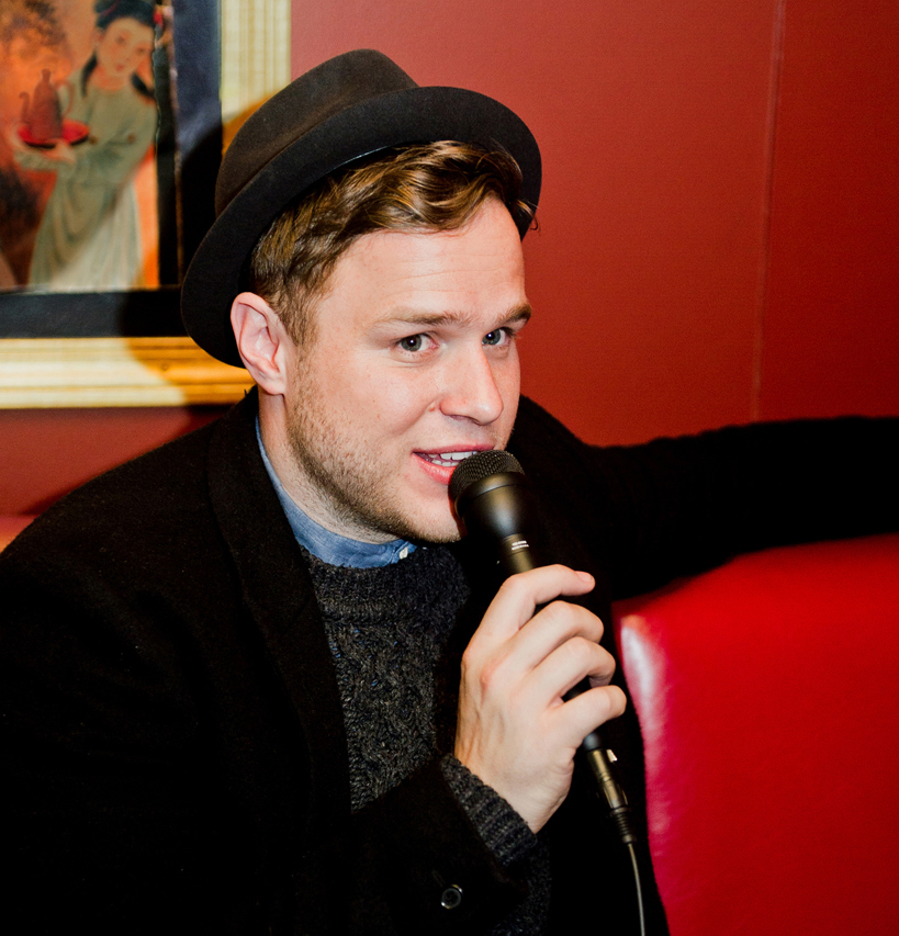 Olly Murs dreams to impress the US: Interview with Paul Larson