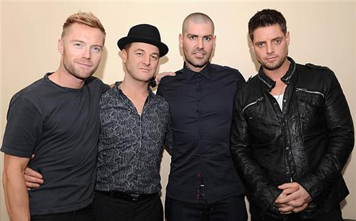 Boyzone teases new material on Australian X Factor