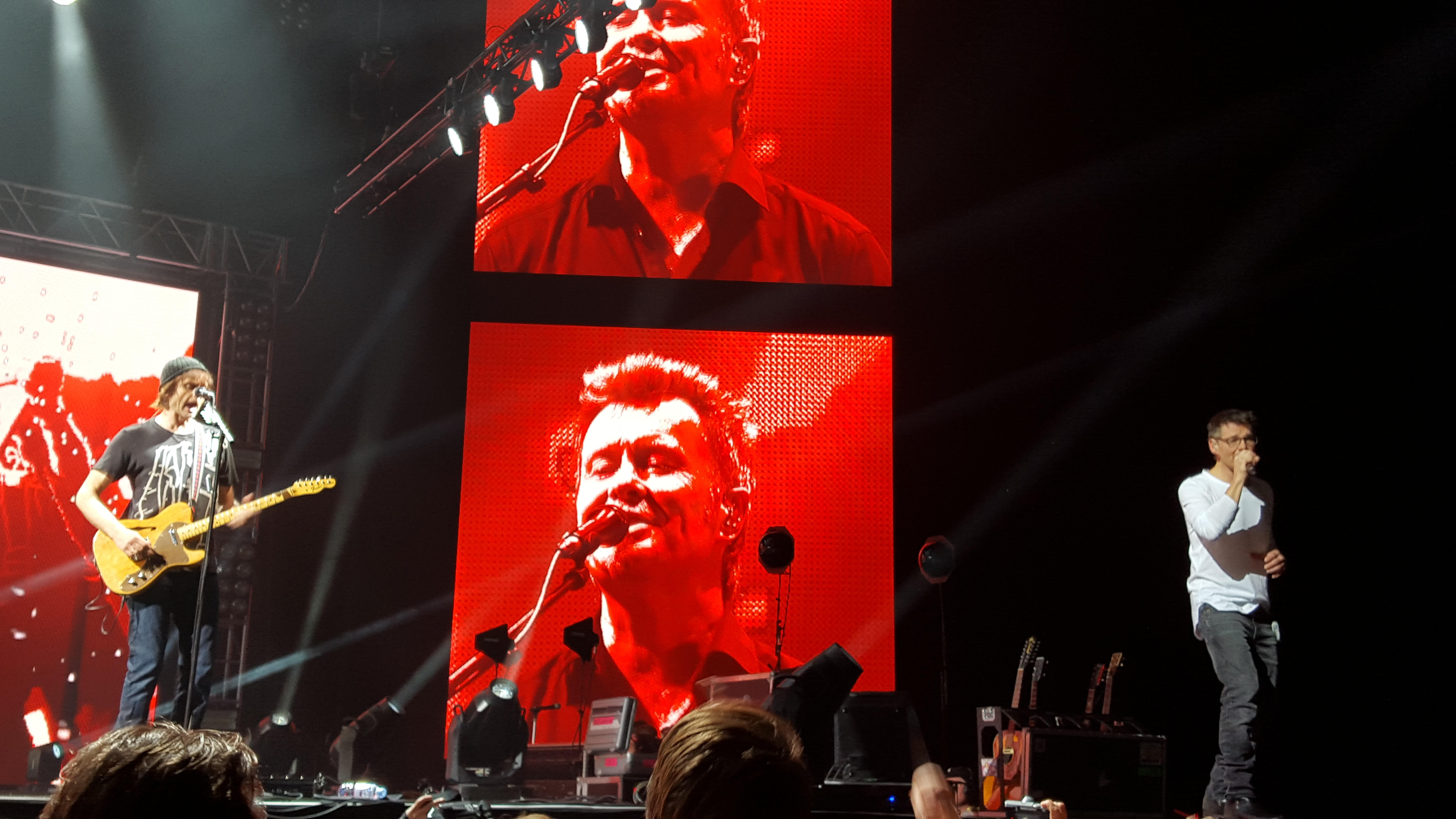 Magne F performing at a-ha Oslo Spektrum concert