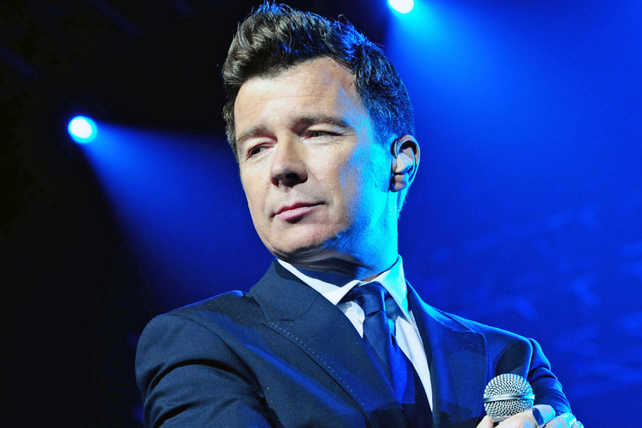 Rick Astley wins hearts at Town Hall in New York City