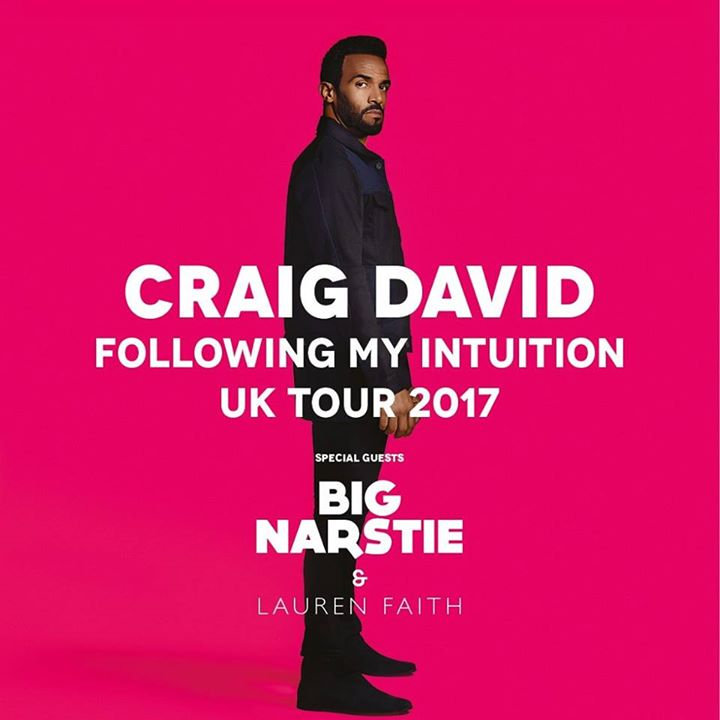 "Craig David enthralls at the Liverpool Echo Arena for his ""Following My Intuition"" arena tour"