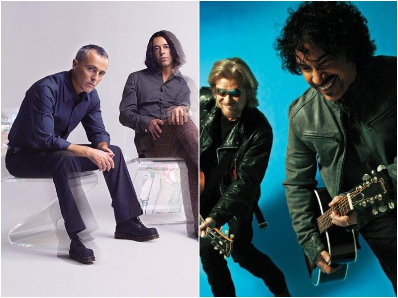 Tears for Fears and Hall & Oates successfully showcase different sonic sensitivities of the 80s