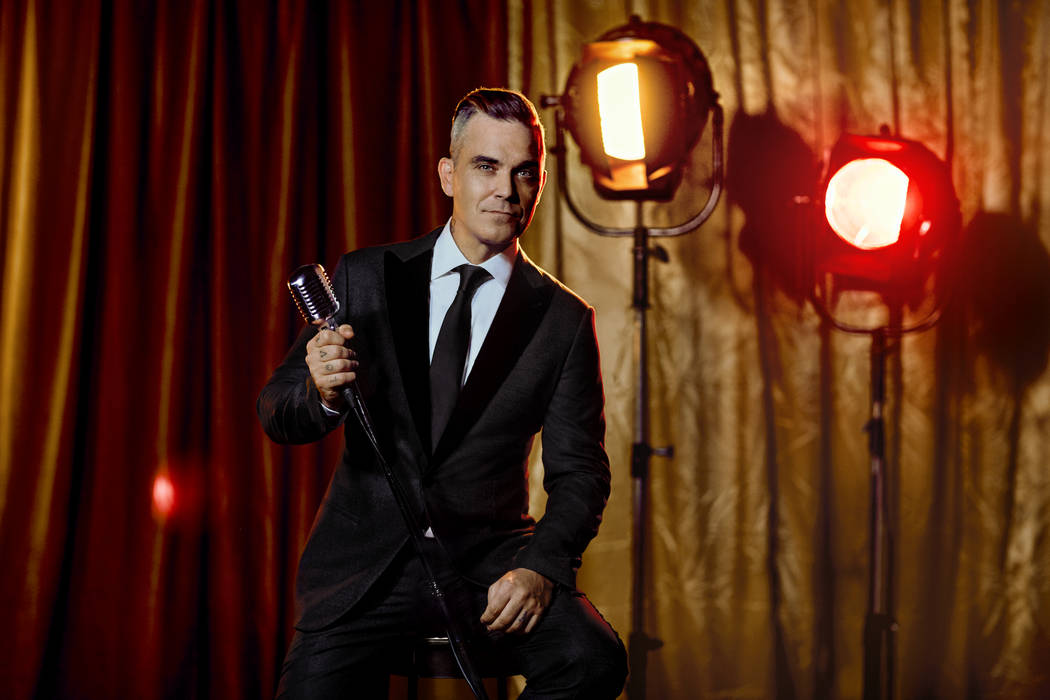 Robbie Williams finds a city that embodies his spirit in Las Vegas